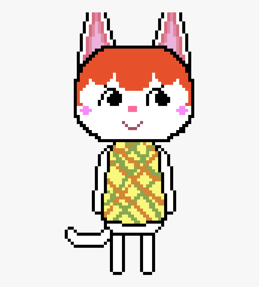 Pixel Art Animal Crossing New Leaf Hd Png Download Kindpng