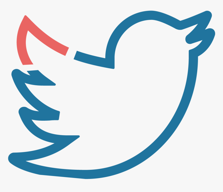 Twitter - White Transparent Twitter Logo, HD Png Download, Free Download