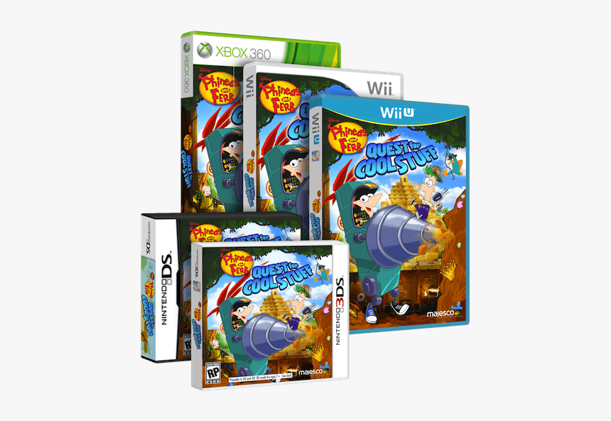 Phineas And Ferb Boxart - Phineas And Ferb Quest For Cool Stuff Ps3, HD Png Download, Free Download