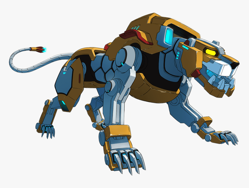 Yellow Lion Voltron Legendary Defender, HD Png Download, Free Download