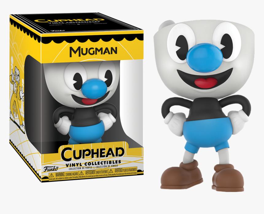 "Mugman 4"" Vinyl Figure By Funko - Cuphead And Mugman Pop Vinyl, HD Png Download, Free Download"