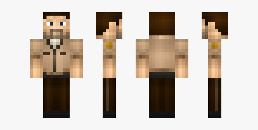 Original Steve Skin Minecraft, HD Png Download, Free Download