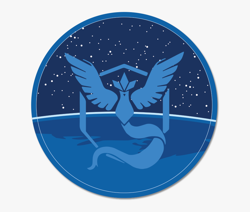 Pokemon Go Team Mystic Gif, HD Png Download, Free Download