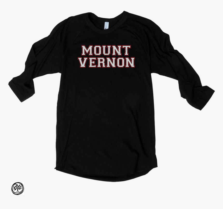 Mount Vernon - Baseball Tee - Black/black - Love For A Love Others T Shirts, HD Png Download, Free Download