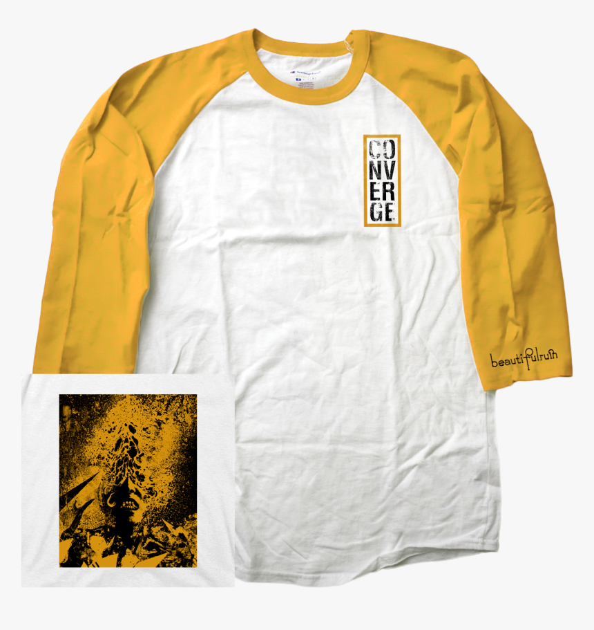 """Converge """"beautiful Ruin - Long-sleeved T-shirt, HD Png Download, Free Download"""
