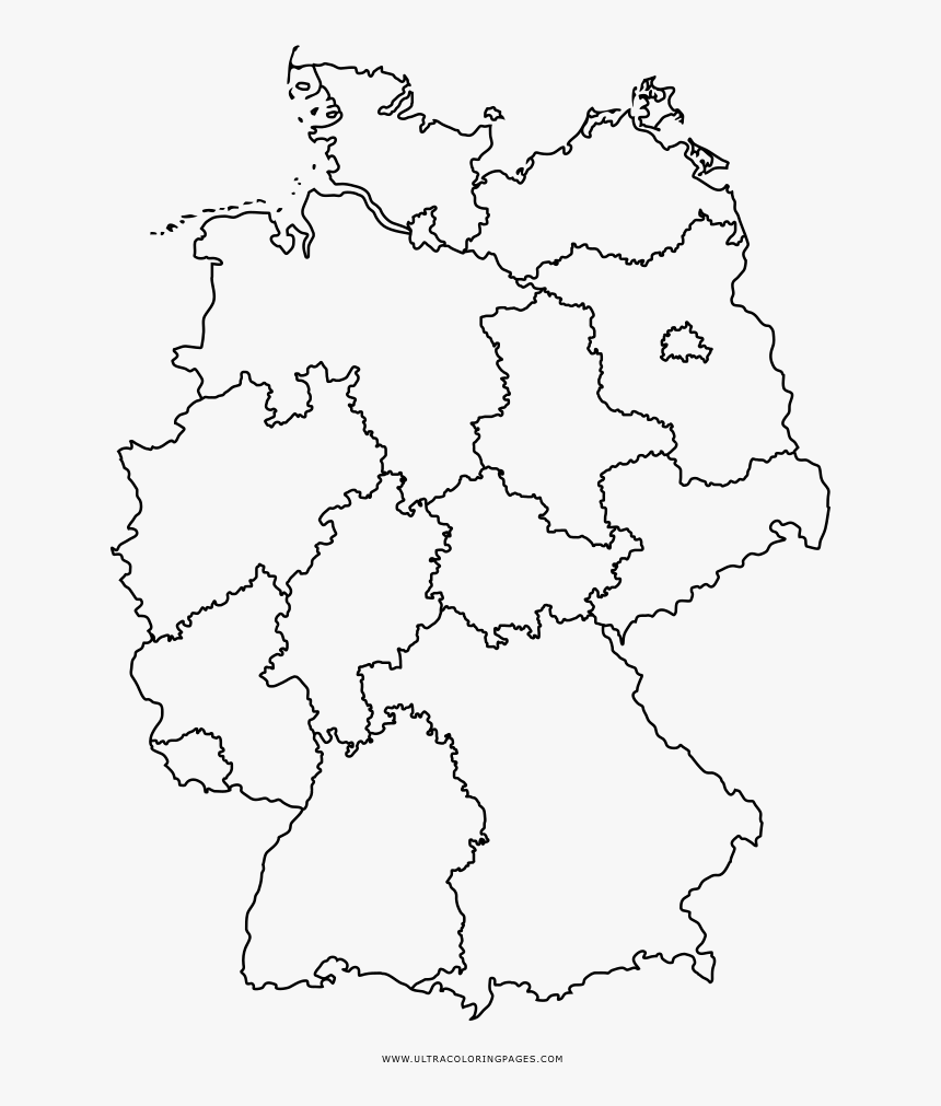 Map Of Germany Coloring Page.Germany Map Coloring Page West Nil Virus Deutschland Hd