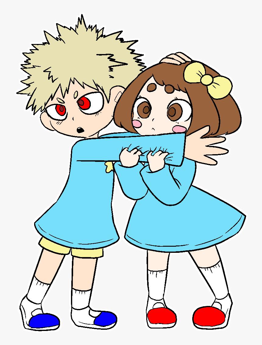 Kacchako My Hero Academia Bakugo Cute Fanart, HD Png Download, Free Download