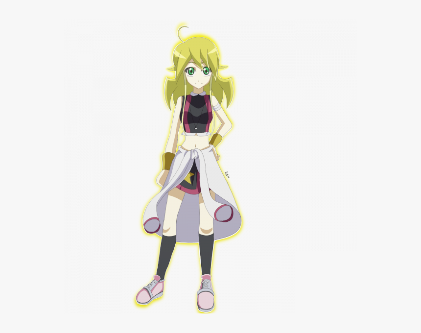 Présentation De Yuki - Yuzu Hiragi Yu Gi Oh Arc V Personaggi Femminili Anime, HD Png Download, Free Download