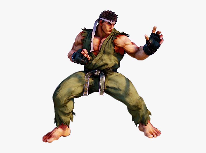 Sfv Ryu Png Street Fighter V Renders Transparent Png Kindpng