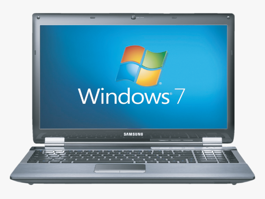 Window 7 Installed On Laptop Png Image Laptop Png Images