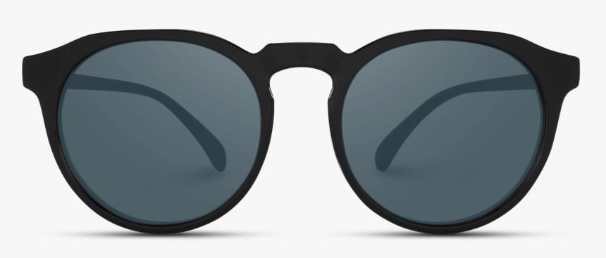 Flat Top Round Retro Sunglasses, Round Sunglasses For - Round Giorgio Armani Glasses, HD Png Download, Free Download