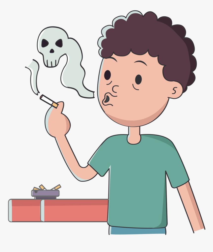Transparent Animated Smoke Png Smoking Cartoon Transparent Png Png Download Kindpng