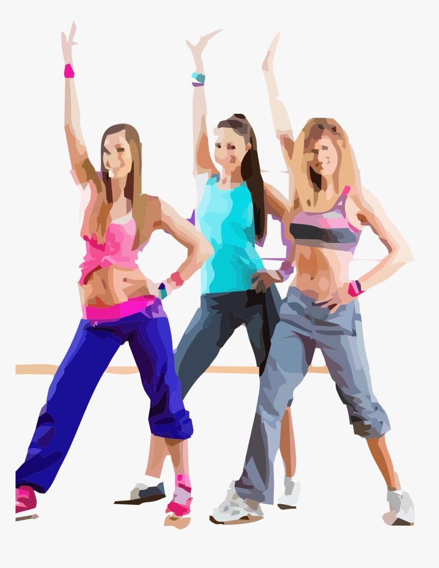 Dance Classes Zumba Hd Png Download Kindpng
