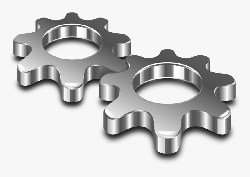 Wheel,gear,hardware Accessory - Metal Clipart, HD Png Download, Free Download