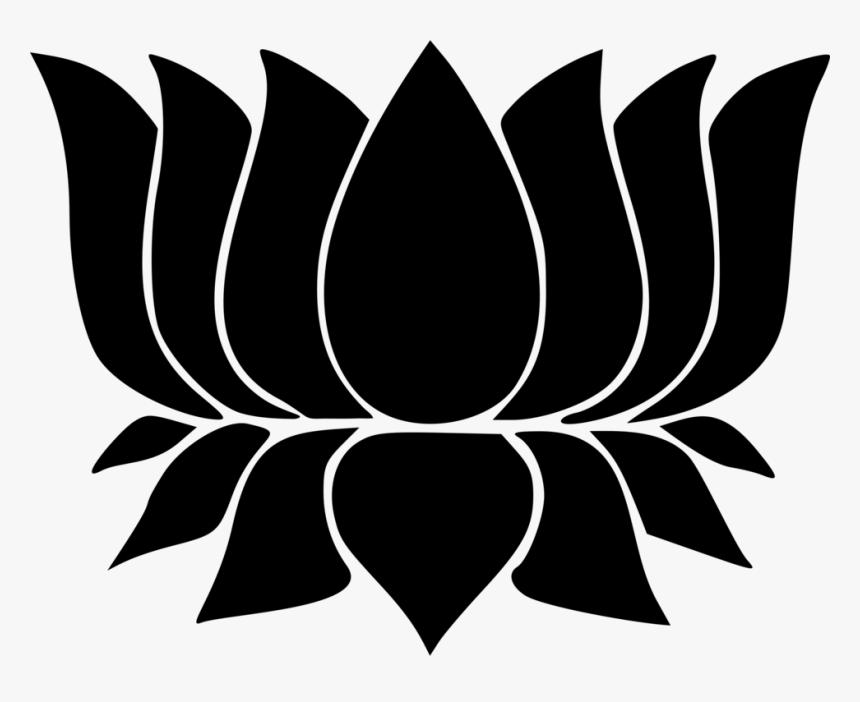 Transparent Religious Symbols Png - Hindu Symbols Lotus Flower, Png Download, Free Download