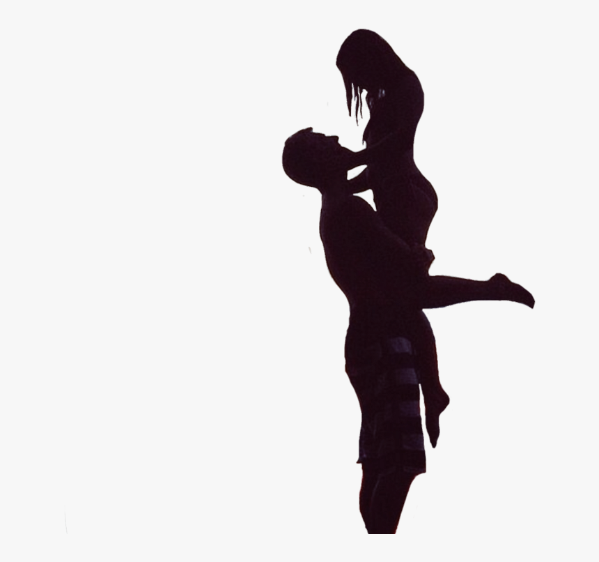 Transparent Couple Silhouette Png - Romantic Silhouette, Png Download, Free Download