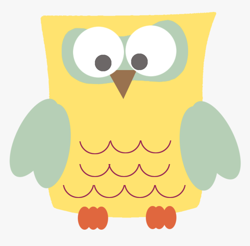 Template Of Owl - Square Owl, HD Png Download, Free Download