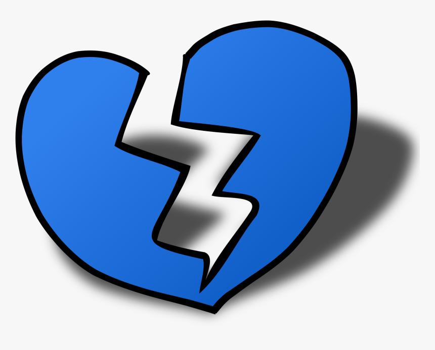 Romance Broken Heart Clip Arts - Broken Heart Clip Art, HD Png Download, Free Download