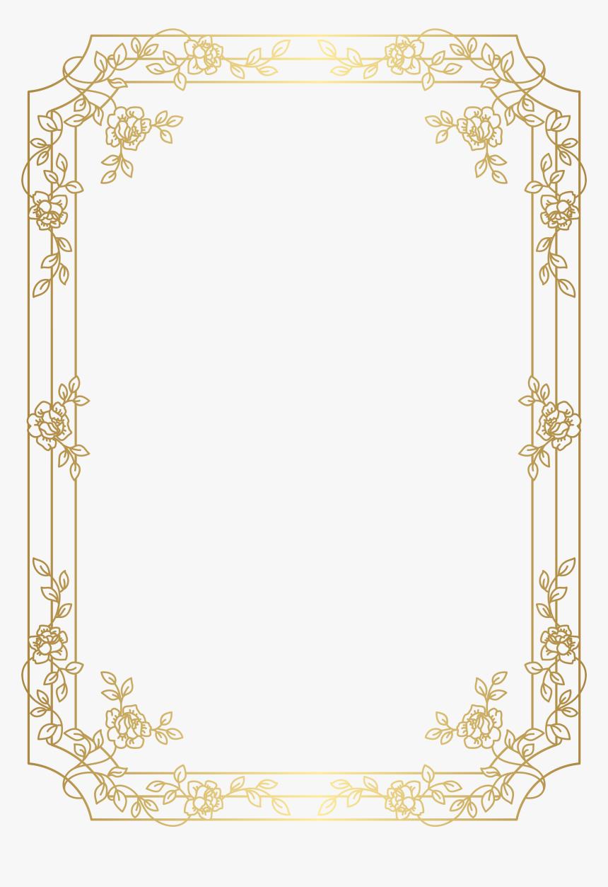 Border Transparent Art Deco - Art Deco Frames Png, Png Download, Free Download