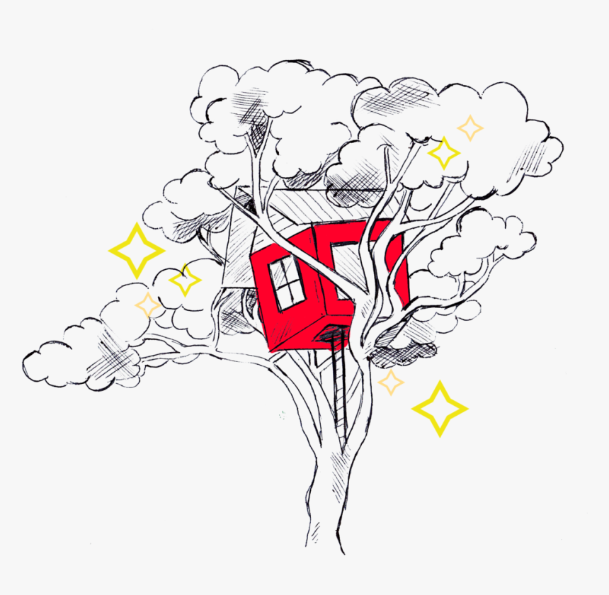 Tree House Stars - Illustration, HD Png Download, Free Download
