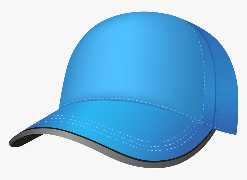Clip Art Pictures Of Baseball Caps - Blue Baseball Cap Png, Transparent Png, Free Download