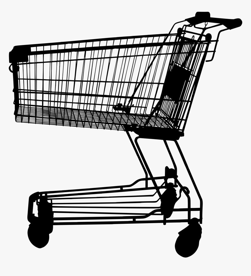 Discount Clipart Shopping Cart - Transparent Background Shopping Cart Png, Png Download, Free Download