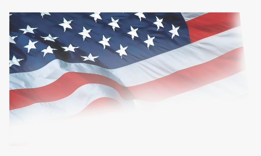 Clip Art Faded American Flag - Transparent 4th Of July Background, HD Png Download, Free Download
