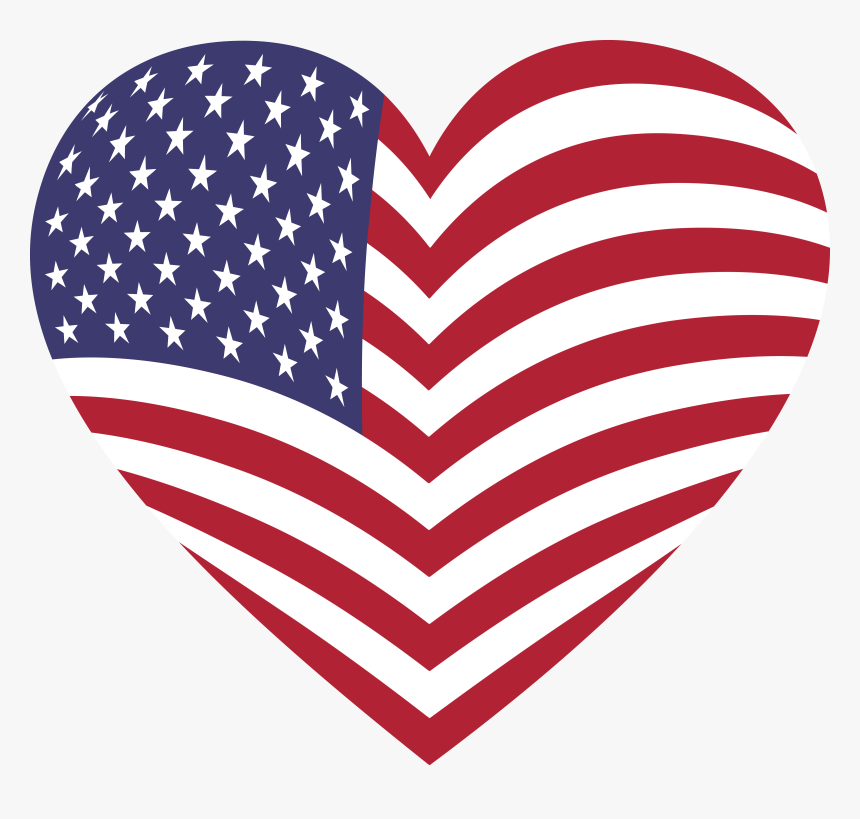 American Flag Clip Art - Us Flag No Background - Free Transparent PNG  Clipart Images Download