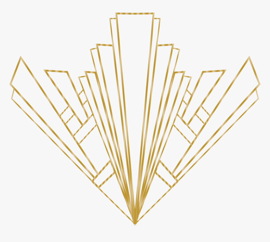 Collection Of Free Line Transparent Art Deco - Art Deco Line Png, Png Download, Free Download