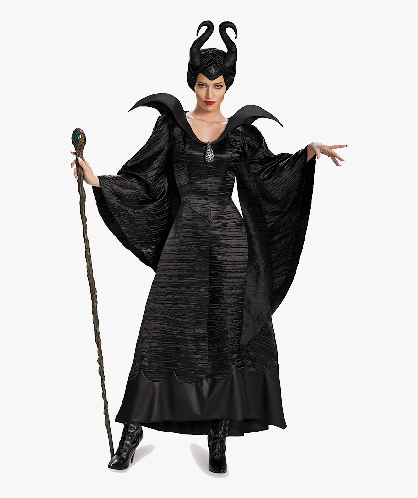 Halloween Costume Png Clipart - Maleficent Halloween, Transparent Png, Free Download