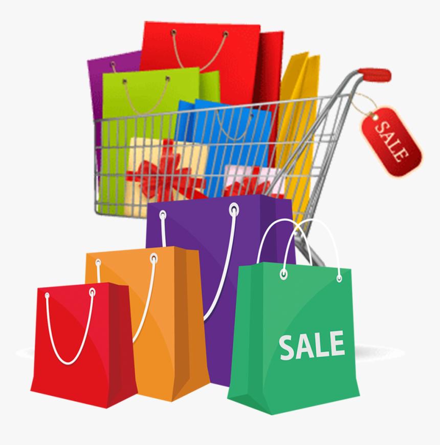 Shopping Cart Stock Photography Shopping Bag Transparent Shopping Bags Cartoon Hd Png Download Kindpng