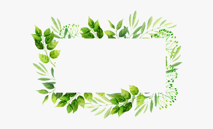 Vector Frame Png Transparent Images Leaf Border Design Png Png Download Kindpng