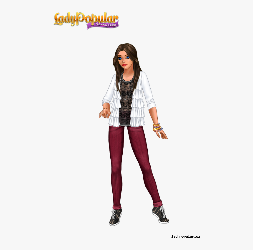 Elena Gilbert - Lady Popular, HD Png Download, Free Download