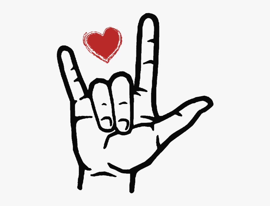 Ily In Sign Language, HD Png Download - kindpng