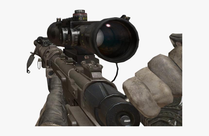 Drawn Sniper Bo2 Sniper - Transparent Cod Sniper Png, Png Download, Free Download