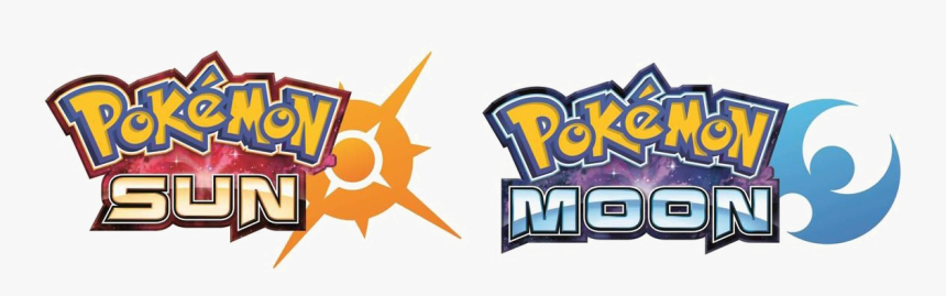 Pokemon Logo Transparent - Pokemon Sun Moon Logo Png, Png Download, Free Download