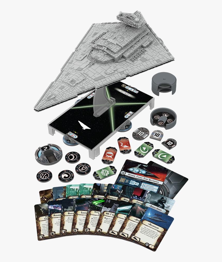 Imperial-class Star Destroyer - Star Wars Armada Star Destroyer, HD Png Download, Free Download