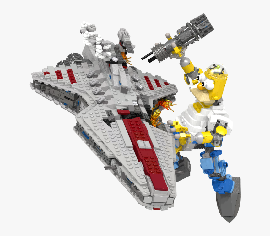 15261450340 D65fbd557f O - Lego Star Destroyer Midi, HD Png Download, Free Download