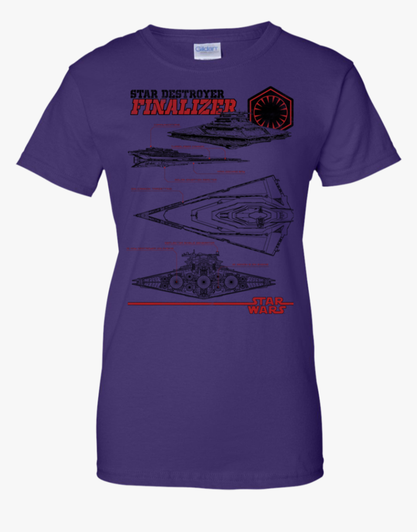 Star Destroyer Finalizer T Shirt & Hoodie - T-shirt, HD Png Download, Free Download