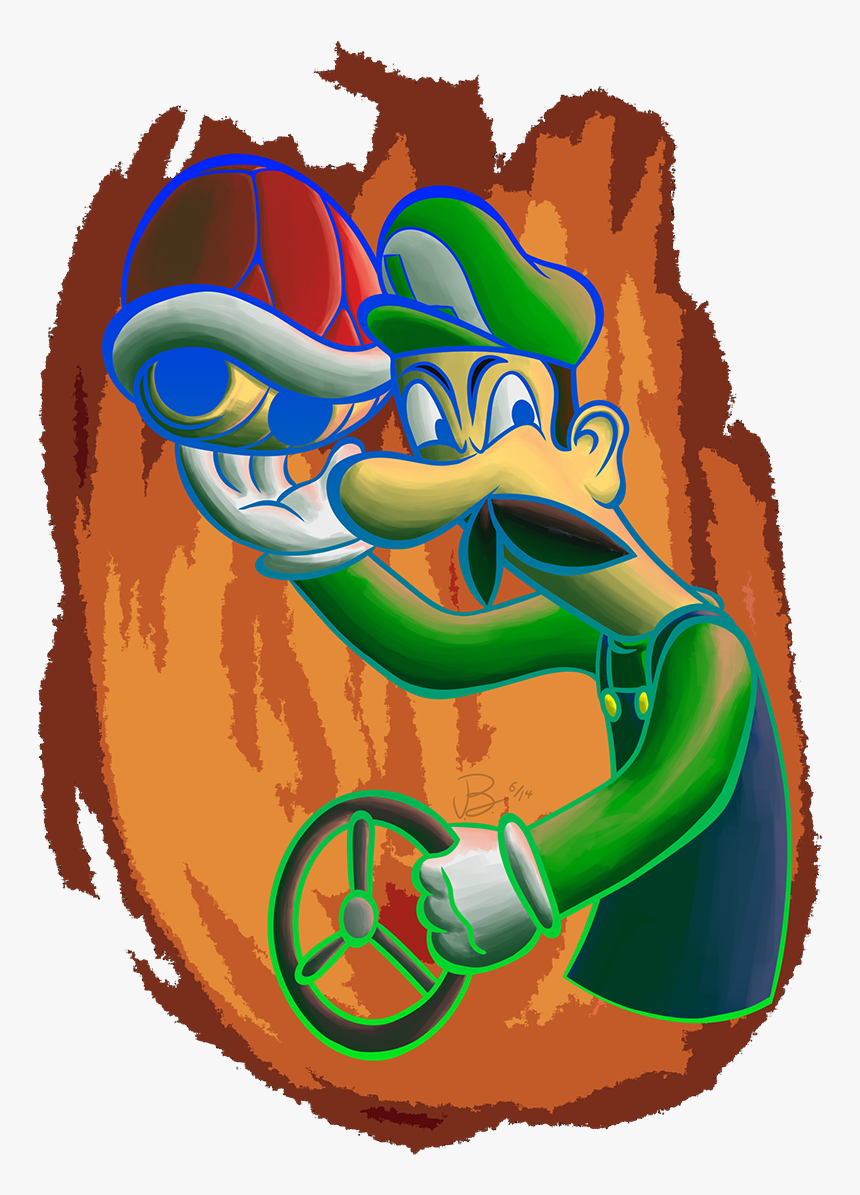 Have A Transparent Death Stare Luigi For All Your Mario