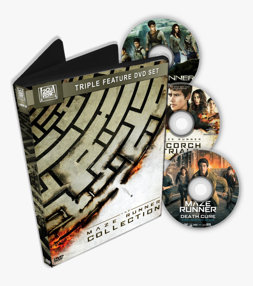 5ae899d423a63 3dboxset - Maze Runner Collection Folder Icon, HD Png Download, Free Download