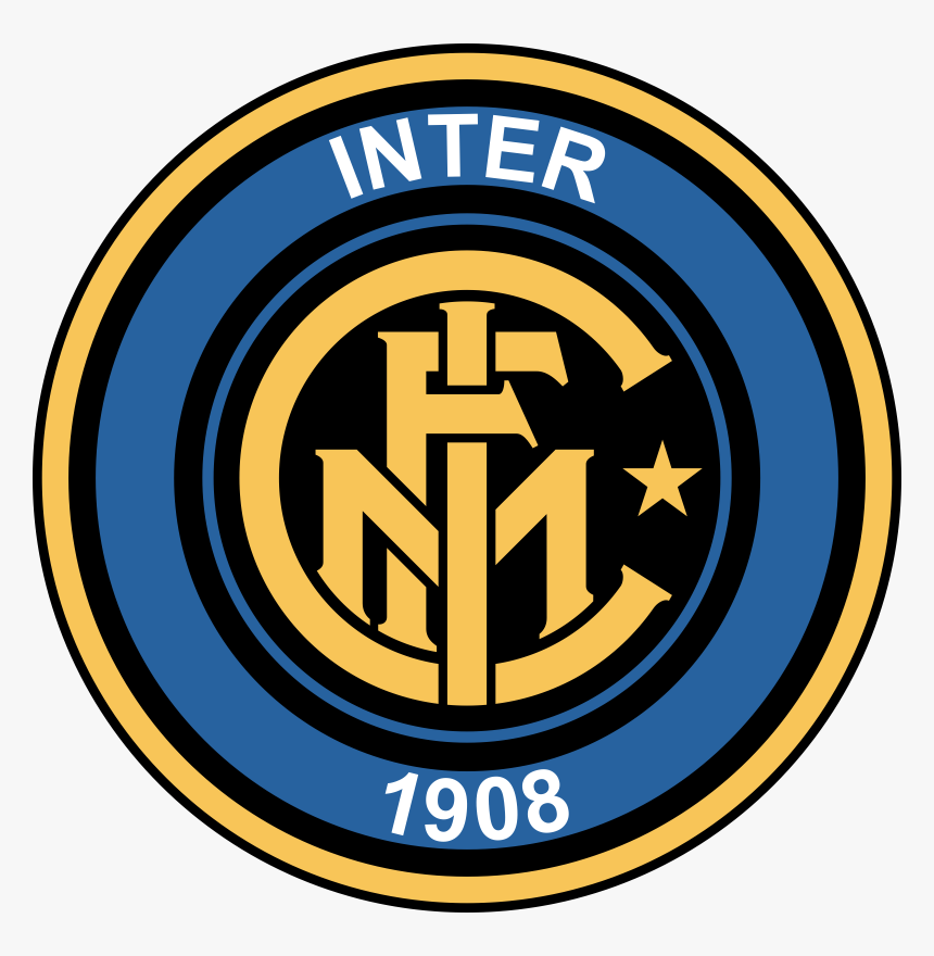 Inter Old Logo Inter Milan Logo Png Transparent Png Kindpng