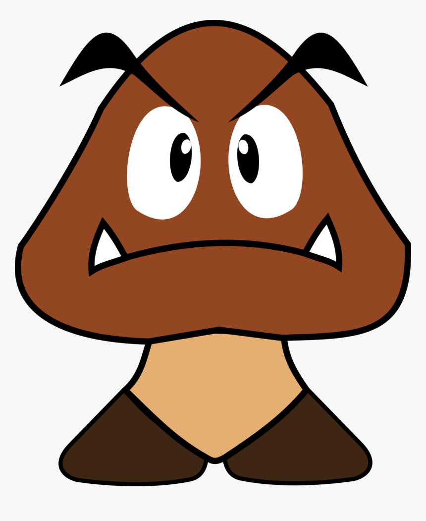 Mario Clipart Goomba - Super Mario Goomba 2d, HD Png Download, Free Download