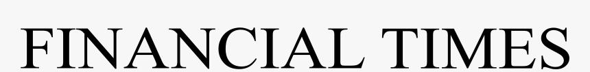 Financial Times Logo Transparent, HD Png Download, Free Download