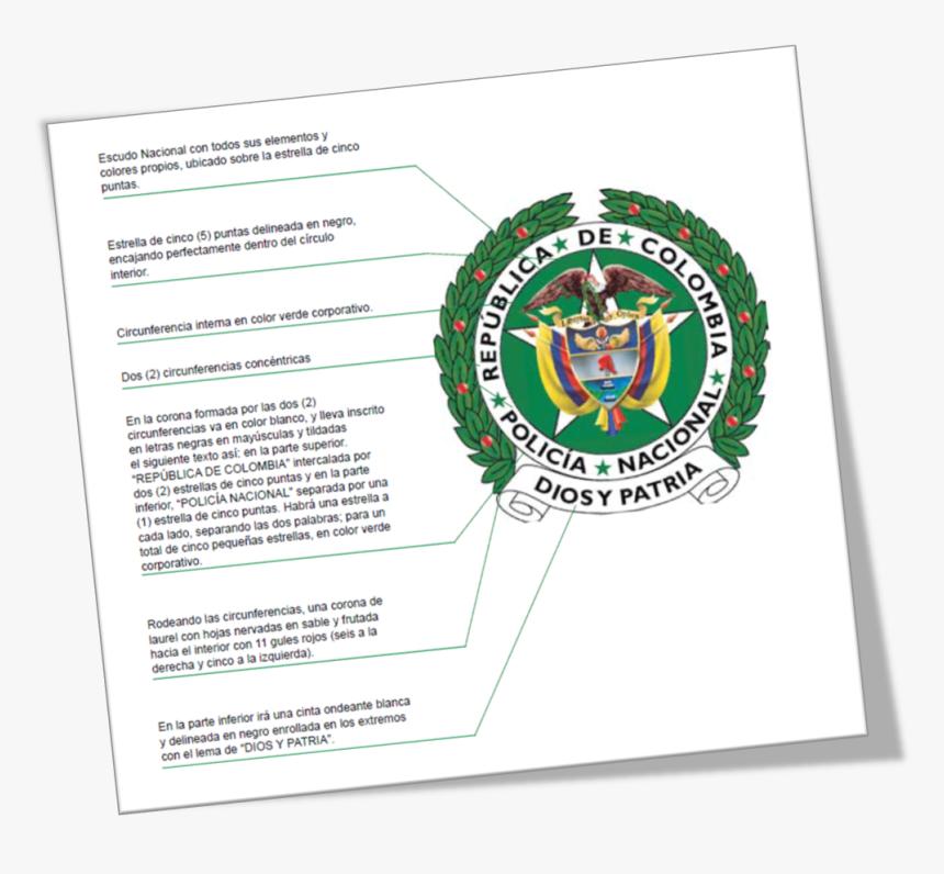 Escudo Policia Nacional De Colombia Png Transparent Png Kindpng