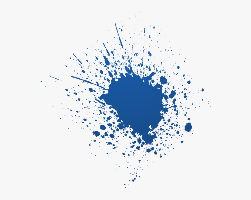 Transparent Paint Splat Png - Color Brush Splash Png, Png Download, Free Download
