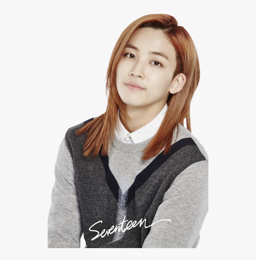Seventeen Jeonghan And Kpop Image Jeonghan Bob Hair Undercut Hd Png Download Kindpng