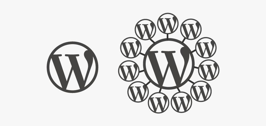 Wordpress Multisite Graphic - Wordpress, HD Png Download, Free Download
