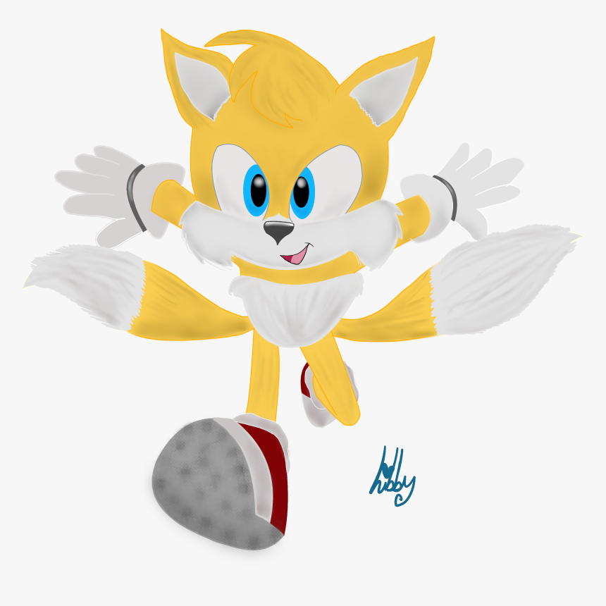 Movie Tails Sonic The Hedgehog Movie Tails Hd Png Download Kindpng