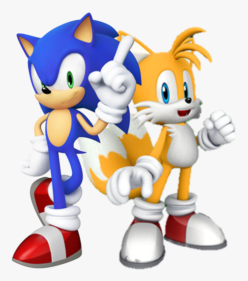 Sonic And Tails Png Transparent Png Kindpng